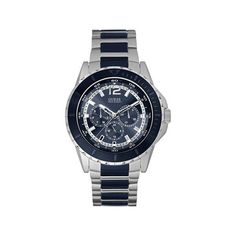 If you like keeping up with the latest fashion and accessory trends, buy Men's Watch Guess mm) at the best price.Gender: MenType of movement: Qua. Armani Watches For Men, Cheap Watches For Men, Armani Men, Seiko, Guess, Perfect Image, Blue Crystals, Casio Watch, Unisex