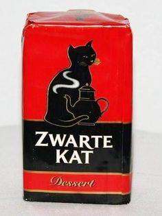Belgian Zwarte Kat coffee - Black Cat coffee