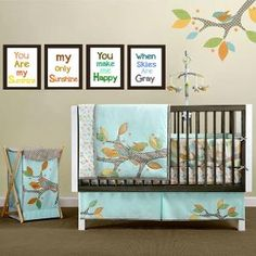 Nursery Wall Art You are my Sunshine print 4 by LittlePergola