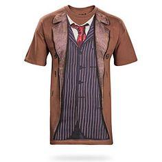 10th Doctor Costume Tee