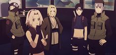 Relieved…LOL, Yamato's face! From Naruto: Blood Prison