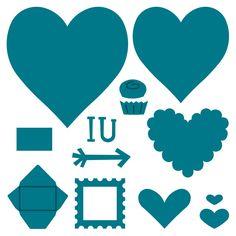 Album-Heart Steel-Rule Die | AccuCut Craft