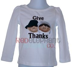 Thanksgiving Give Thanks Shirt on Etsy, $20.00