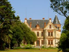 Chateau in Canet-en-Roussillion, France