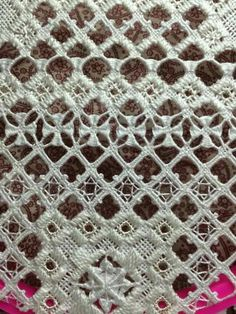Very fine work from Hardanger Embroidery on fb