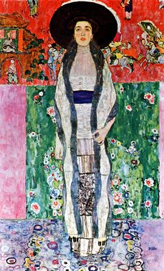 Klimt, Gustav (1862-1918) - 1912 Portrait of Adele Bloch-Bauer (Christie's New York, 2006) |Adele Bloch-Bauer II is a 1912 painting by Gustav Klimt. Adele Bloch-Bauer was the wife of Ferdinand Bloch-Bauer,[1] who was a wealthy industrialist who sponsored the arts and supported Gustav Klimt. Adele's portraits had hung in the family home prior to their seizure by the Nazis