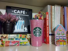Diy pencil holder with starbucks cup!