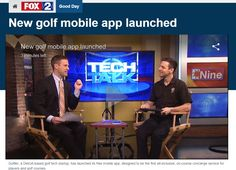 FOX 2 Interview  New Golf Mobile App Launched