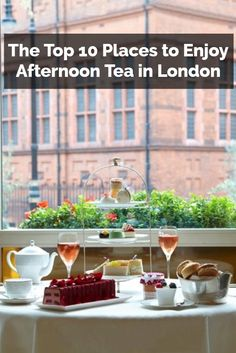 Are you heading to England soon? If so, you should treat yourself to afternoon tea in London at one of these great places.