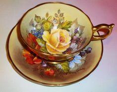 Tea cup-reminds me of Mrs Perkins