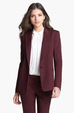 Theory 'Dancey' Woven Blazer available at #Nordstrom
