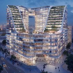 Hotel Architecture, Modern Architecture House, Futuristic Architecture, Beautiful Architecture, Architecture Design, Unusual Buildings, Amazing Buildings, Luxury Boat, Future Buildings