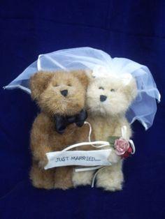 "Boyds Bears ""Just Married"" Bears (903056)"