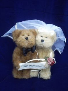 "Boyds Bears ""Just Married"" Bears (903056)"