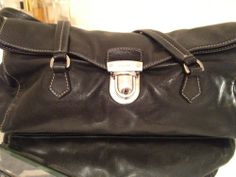 Chic. Furla ponyhair weekend bag dark brown with leather accents ...
