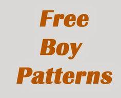 100+ Free boy sewing patterns!!!
