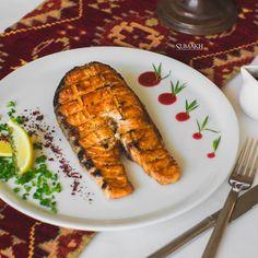 Salmon kebab. #sumakhrestaurant #beatgroup #summerdishes #yummy #azerbaijan #baku #summer2015 #delicious #tasty #summeryummy #baku2015  #national #cuisine #kebab #salmonkebab #salmon