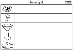 Use this worksheet to describe the world outdoors or the changing seasons. Also a great starter activity for a story writing class.