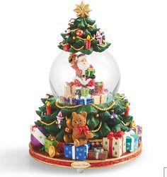 Fun Christmas snow globe