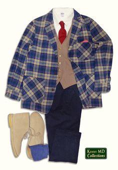 Pure Virgin Wool Topster Jacket  & Odd Vest