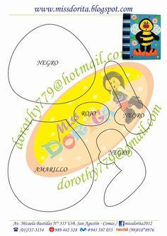 Este es un lindo archivador de abejita , ideal para regalar en  alguna ocasión especial, este y  otros moldes los encuentran en el CD Moldes... Bug Crafts, Spelling Bee, Butterfly Dragon, Marianne Design, Paper Piecing, Paper Dolls, Ladybug, Quilt Patterns, Stencils