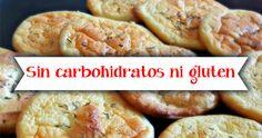 Receta de pan saludable, sin carbohidratos ni gluten
