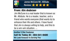 Jim McCune is a real leader that is known as Mr. Attidute. He is a leader, teacher, and a...