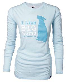Abel Pet Supply — I Like Big Mutts Women's Long Sleeved T-Shirt
