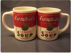 Warhol's mug Campbel - 1960's USA