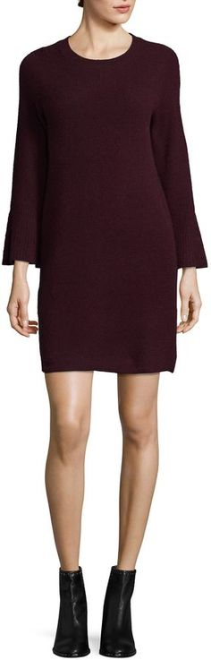 White + Warren Women's Cashmere Sweater Dress