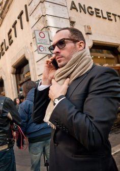 roma street style... gotta love italian men
