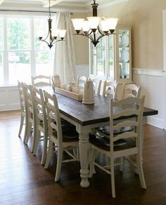 Hey, I found this really awesome Etsy listing at https://www.etsy.com/listing/484109021/farmhouse-dining-table-wood-turned-leg