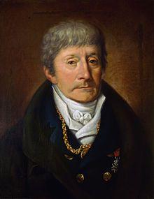 Salieri par Joseph Willibrod Mähler en 1825. Incontournable et inénarrable Saliéri, professeur de Schubert.