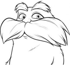 Dr Seuss The Lorax Coloring Pages 3