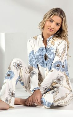 MIXTE PIJAMAS • Fall-Winter 2018 • Mixte Collection - Cute Lounge Outfits, Cute Comfy Outfits, Cozy Pajamas, Girls Pajamas, Pyjamas, Sleepwear Women, Lingerie Sleepwear, Pijama Satin, Pijamas Women