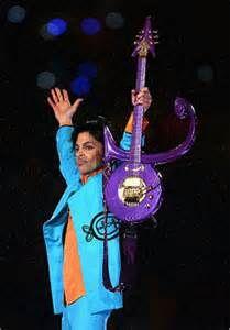 <b>Prince</b> Rogers Nelson performing at <b>Super Bowl</b> 41, 2007 image