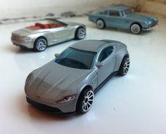 Aston Martin DB10 | Hot Wheels | Aston Martin DBS Volante | Matchbox & 1963 Aston Martin DB5 | Hot Wheels