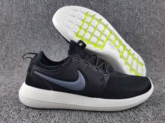 Free Shipping Only 69$ NIKE ROSHE TWO MANS SHOE 2017 Black Anthracite White White 844656-004
