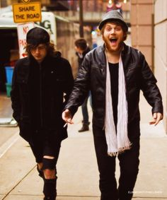 Ben Bruce and Danny Worsnop- Asking Alexandria I love them two!