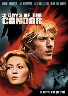 Three Days of the Condor, Robert Redford and Faye Dunaway.