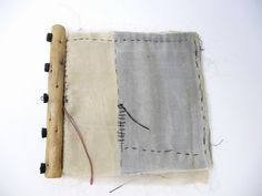 wabisabiart: Waxed Kimono Silk Book Noela Mills