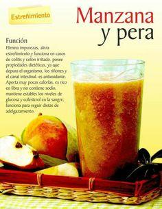 Jugo Manzana y pera