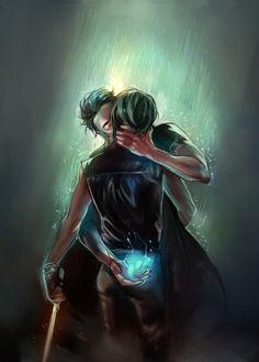 Magnus and Alec's kiss.