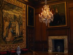 The Tudors Throne Room | Queen Anne's audience chamber