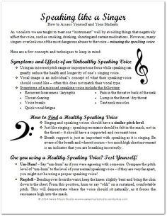 Vocal Lessons, Singing Lessons, Singing Tips, Music Lessons, Music Lesson Plans, Music Sing, Songs To Sing, Vocal Warmups, Ukulele
