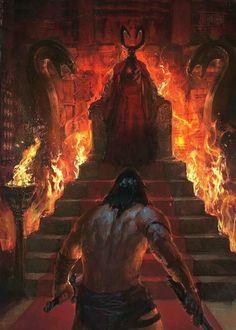 Conan Confronts The Demon King