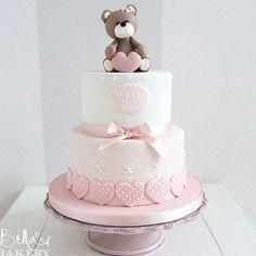 [ Cuteness Overload ] Baptism Cake by @bellasbakery #cakesinstyle  ➖➖➖➖➖