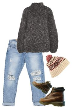 """""""Untitled #217"""" by rowan-asha ❤ liked on Polyvore featuring Current/Elliott, The Row and Topshop"""
