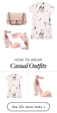 """Casual"" by alishashahila on Polyvore featuring Rochas and Chanel"