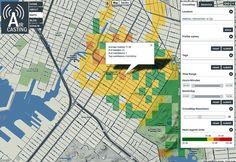aircasting cell phone environmental data map